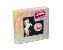 CARMEX Lippenbalsam Limited Edition JAR Unicorn Geschenkset mit Schlüsselanhänger